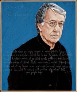David Barsamian poster